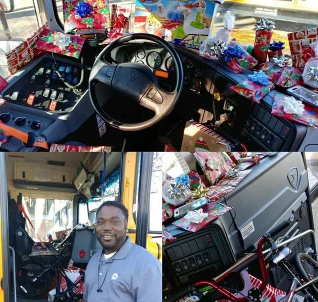 An elementary school bus driver asked every kid on his bus what they wanted for Christmas. He bought every child a gift.