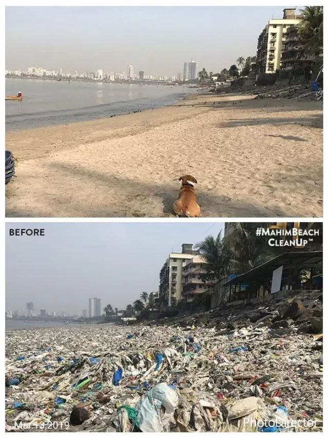 This is power of internet. Just take a hashtag to clean up entire beach in India. Keep our lives pure