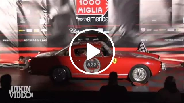 1000 Miglia is Italian race of Ferrari / Maserati cars
