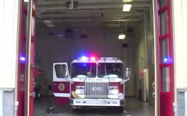 Firefighters practice health protection