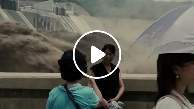 Tourists Photographed Next To Hydroelectric Dam - Video & GIFs | tourists, men and women fashion, photography, camera, coa definition, photography technology, hydroelectric dam