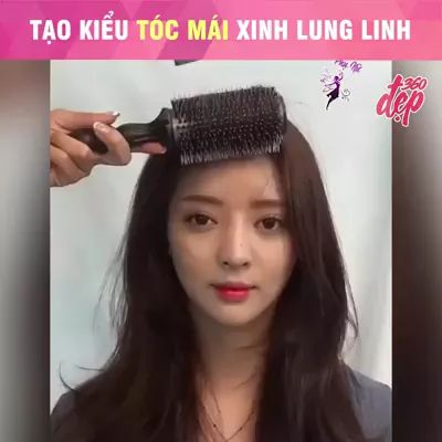 Girl with new hairstyle in hair salon - Video & GIFs   girls, women fashion, new hairstyles, hair salons, hairdressing tools