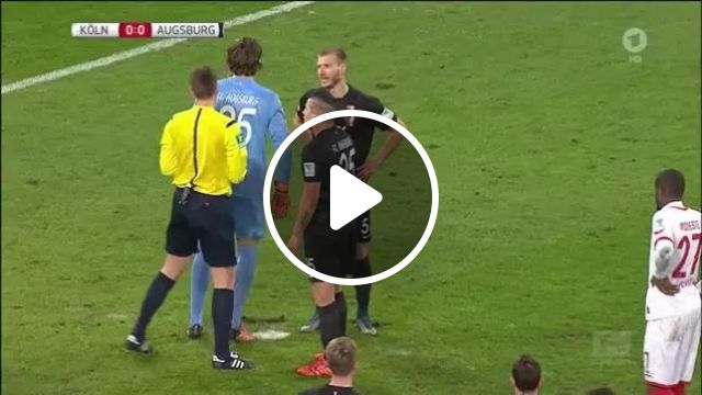 penalty is kicked out of cause of pitch surface