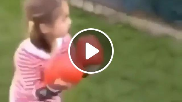 children play very happily, funny boxing, fashion clothes for kids, kids sports