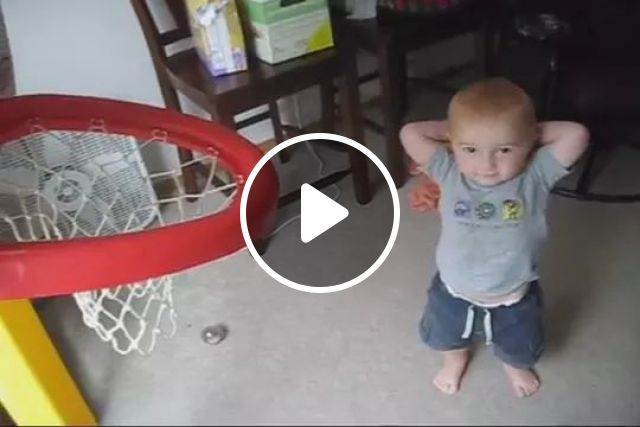 Talented kid who plays basketball very well, Talented kid, baby fashion clothes, playing basketball