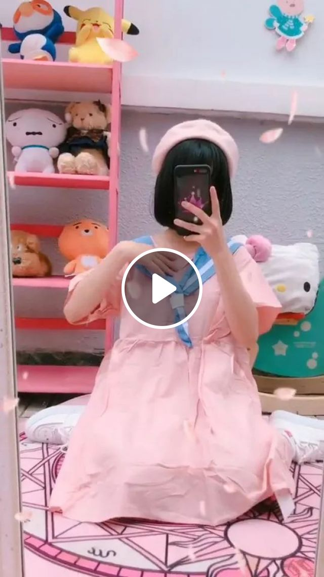 Girl With Beautiful Dresses - Video & GIFs   cute girls, beautiful dresses, luxurious bedrooms, smart phones
