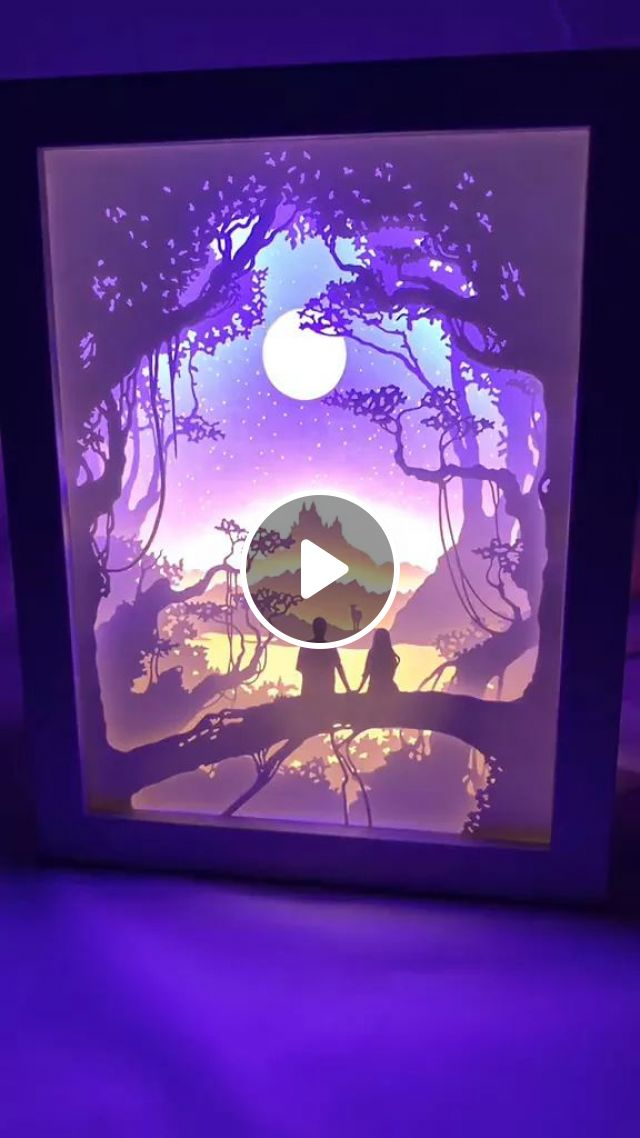 Picture Is Combined With Beautiful LED Lights - Video & GIFs   picture, beautiful led lamp, drawing technique, led technology
