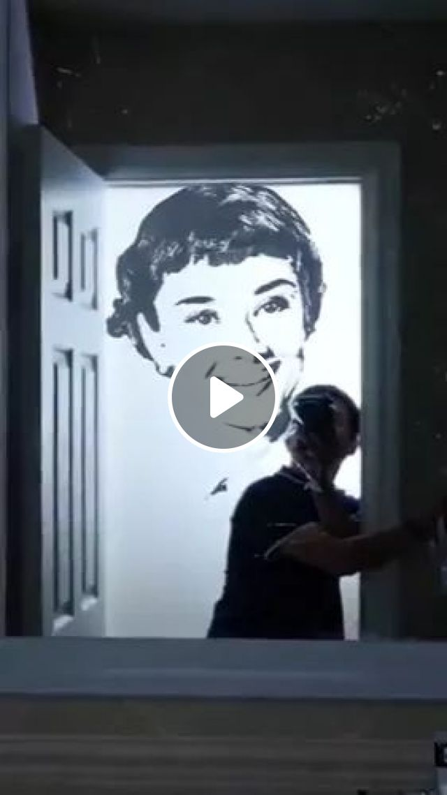 Talented Man Painting In Bathroom - Video & GIFs   talented man, art painting, bathroom equipment, bathroom furniture