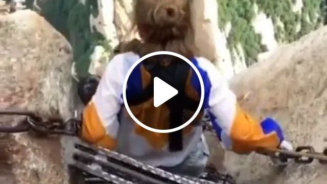 Travel And High Mountain Climbing In China - Video & GIFs | mountain travel, alpine climbing, climbing gear, smart phones, china travel