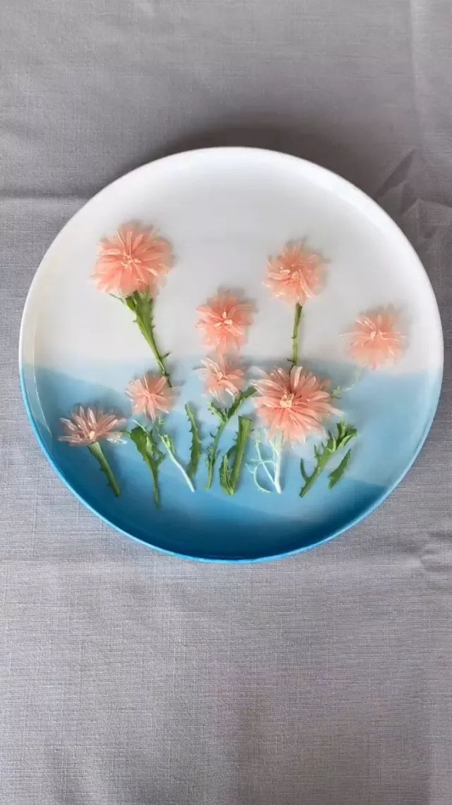 Flowers from grapefruit - Video & GIFs   decorate food,fruit,good for health,vitamins