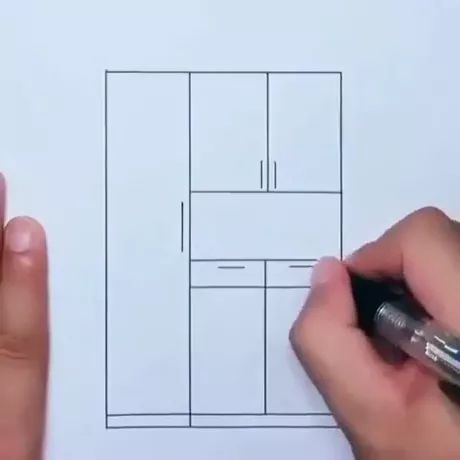 Interior design, Steady hands gives perfect drawing - Video & GIFs | interior design,drawing tools,perfect drawing,satisfaction