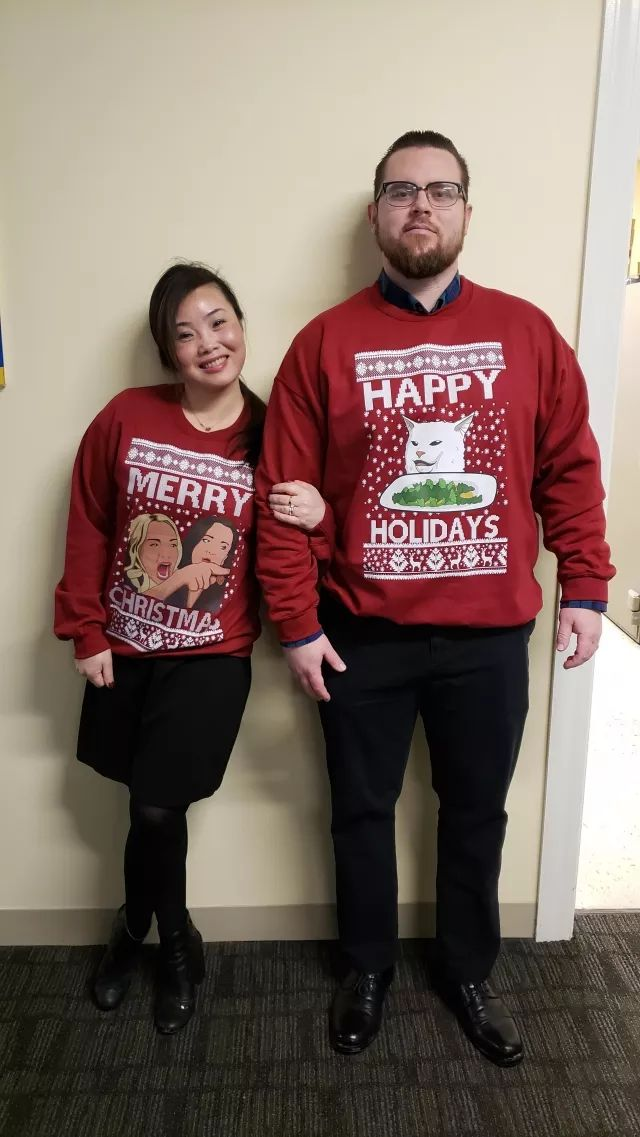Merry Christmas from my hilarious co workers!