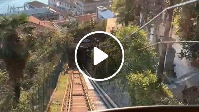 Italy Travel, Going Up The Funicular In Como But Facing The Lake. - Video & GIFs   reddit, travel, going_up_the_funicular_in_como_but_facing_the_lake