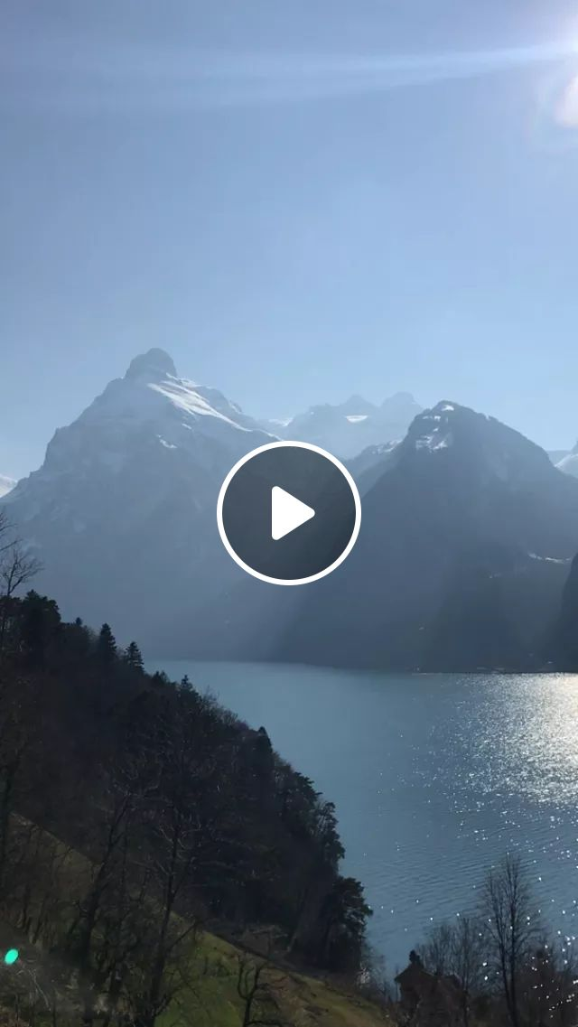 Switzerland travel, It's impossible to drive through Switzerland without stopping every 5 minutes. This was Lake Lucerne, near Brunnen., reddit, travel, its_impossible_to_drive_through_switzerland