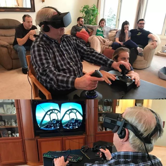 My Grandpa was a pilot for decades but had to sell his plane 15 years ago. This Christmas PCMR gave him a chance to fly again.