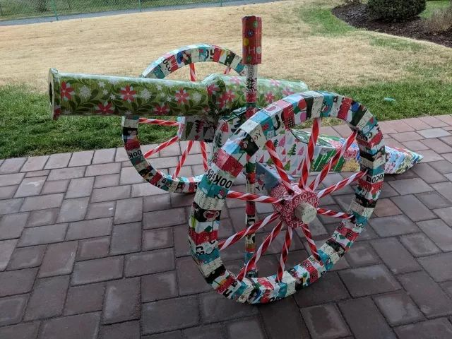 Our family has a 35+ year tradition of disguising Christmas gifts. This took over 80 hours to build.