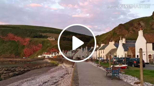 Scotland Travel, Pennan, Has To Be One Of The Most Peaceful Places Out There. The Sounds Are So Relaxing... - Video & GIFs | reddit, travel, pennan_scotland_has_to_be_one_of_the_most
