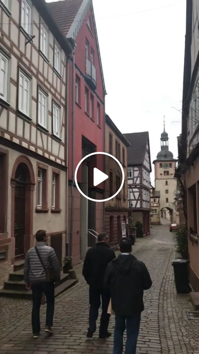Germany Travel, Old Town Ensemble Of Klingenberg Am Main With Terraced Vineyards - Video & GIFs   reddit, travel, klingenberg_germany_in_video_format