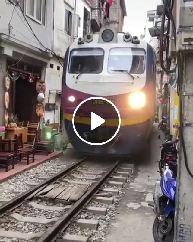 Seems Like The Perfect Place For A Train - Video & GIFs | reddit, gifs, seems_like_the_perfect_place_for_a_train