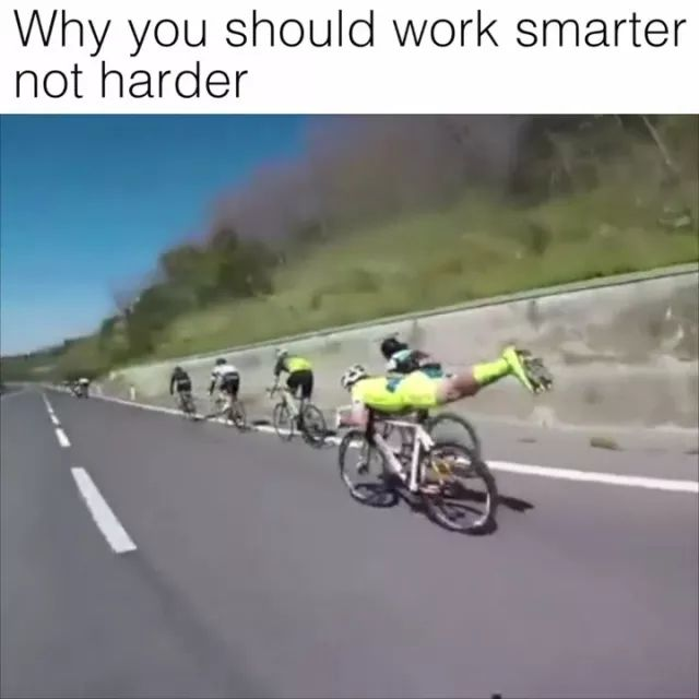 why you should work smart not harder