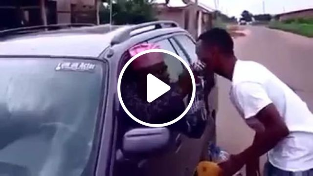 Good Man Cleans Luxury Cars On African Street - Video & GIFs | Good man, cleaning cars, car cleaning tools, luxury cars, African streets, Africa travel