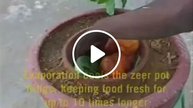 Refrigerator without Electricity, refrigerator technology, summer cooling, delicious food