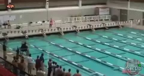 Speed of Human Swimming