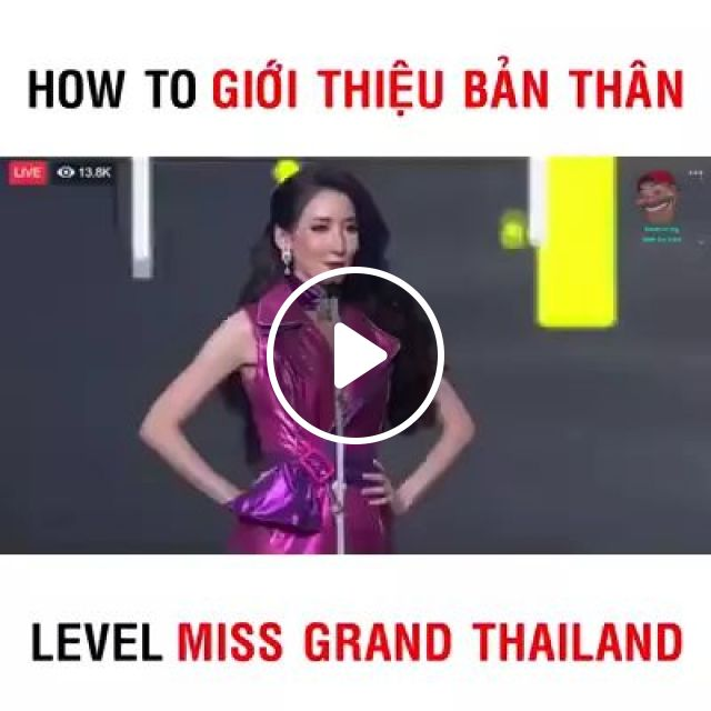 Beautiful Thai people are introducing names.