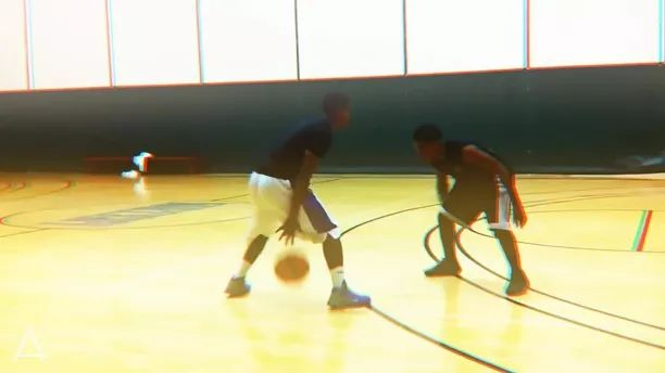 Great skill of basketball players