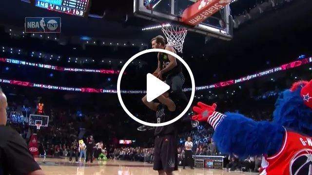 On The Basketball Court, Athlete Jumps Very High - Video & GIFs | Basketball, performances, techniques, athletes, very high jumps