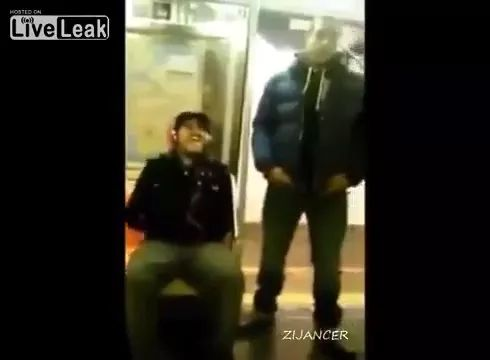 Use a smartphone on the subway