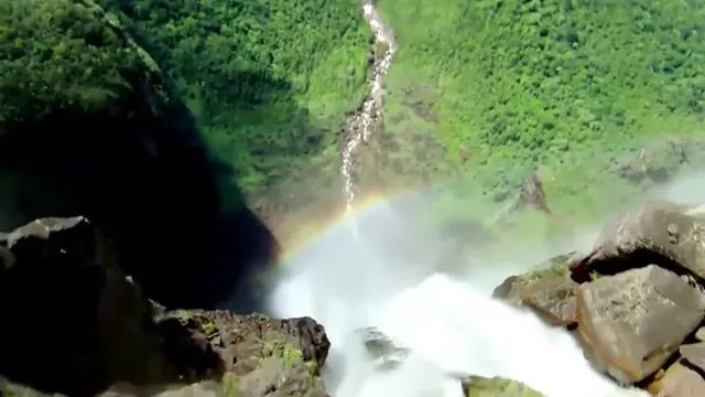 Traveling by plane we can see beautiful waterfalls - Video & GIFs | Traveling by plane we can see beautiful waterfalls
