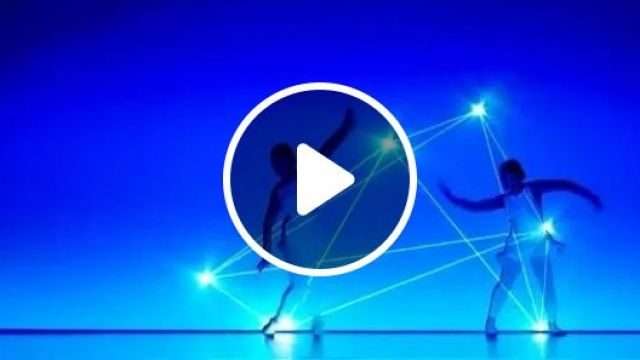 Light technology combined with dance, light technology, combined, dance