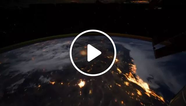 Earth Is Seen From Universe - Video & GIFs | earth, from space, planet, night