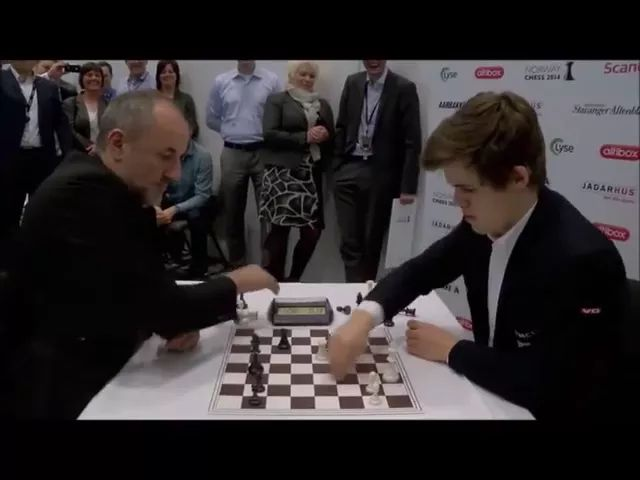 Two men playing chess at high speed - Video & GIFs | man, playing chess, at high speed, clock,