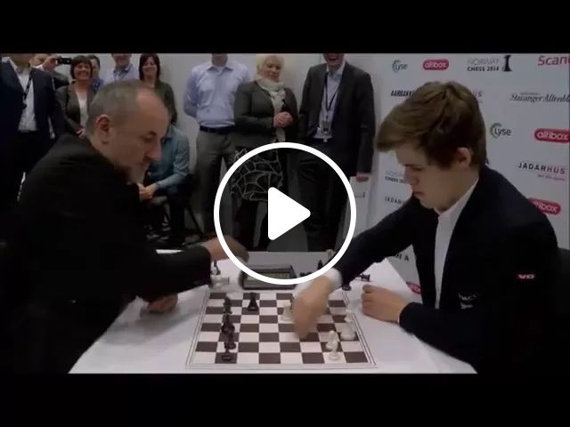Two men playing chess at high speed