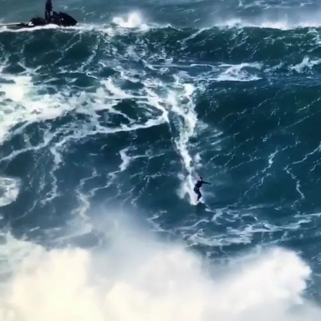 Biggest Waves Ever Surfed - Video & GIFs | surfing, high waves, beaches, adventure, amusement parks, resorts, tourism