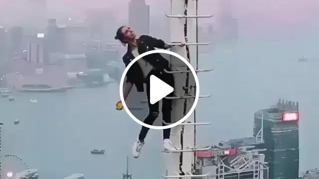 Girl Climbed High To Take Photos With Smartphone - Video & GIFs | Girls, women fashion, taking pictures, smartphones, high definition