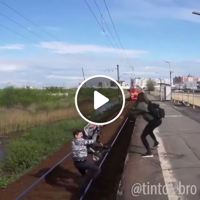 HERO!!, hero, trains, falls, saves people, good luck