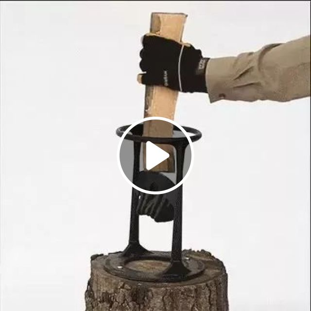 Very smart, creativity, wood splitting, smart, technology, performance