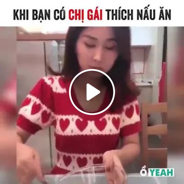 Girl making cakes in kitchen, fashion clothes, making cakes, kitchen tools, kitchen furniture, kitchen appliances