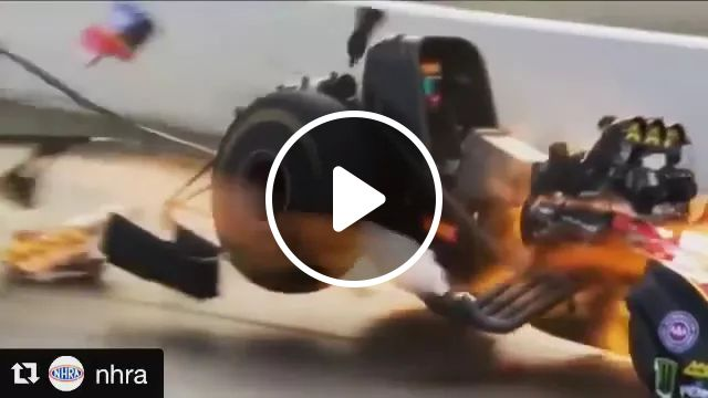 Very powerful racing cars burned on the track