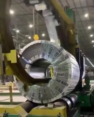 Steel factory with automatic technology