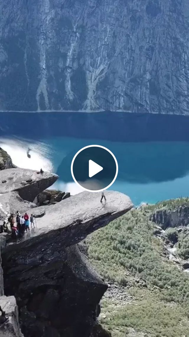 This is Trolltunga hike in southwestern Norway, a few hours drive from Bergen, trolltunga hike, southwestern norway, bergen, norway travel