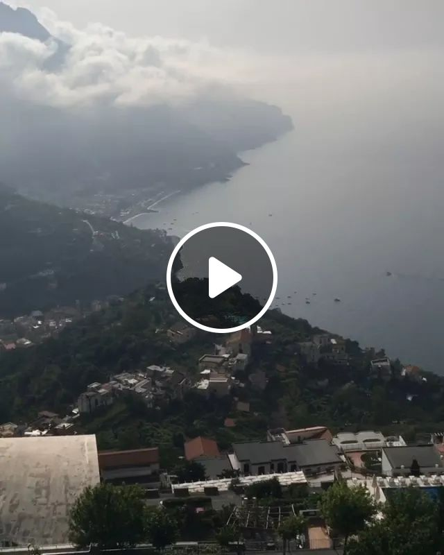 Breathtaking View From Our Suite In Palazzo Avino Hotel - Video & GIFs | italy travel, palazzo avino hotel, beautiful scenery, peaceful scene