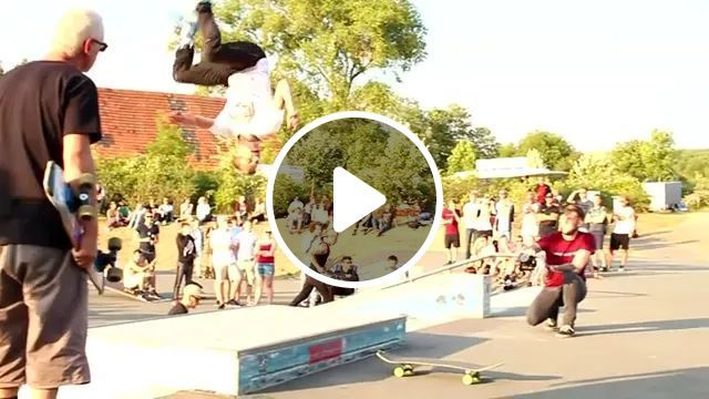 His Great Jump On The Skateboard - Video & GIFs   man, male fashion, jump owl, awesome, skateboard