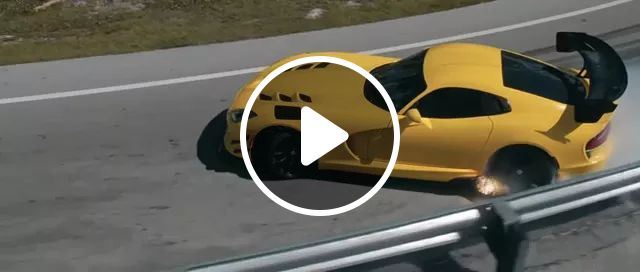 Viper sports cars with very powerful engines