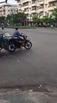motorcycle tractor lifts front wheel when running across road - Video & GIFs | motorcycle tractor, motorcycle, lifts, the front wheel, when, running, across, road