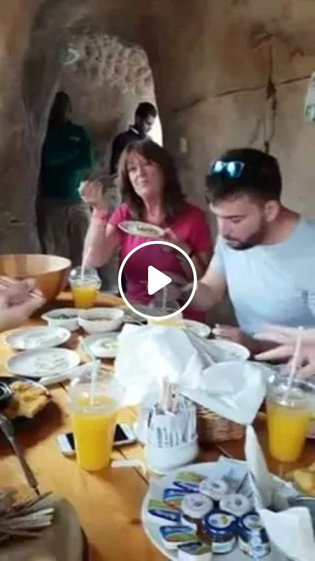 Tourists And Giraffes Eating Lunch Together - Video & GIFs   tourists, Europe travel, restaurant, fashion men and women, giraffe, animals