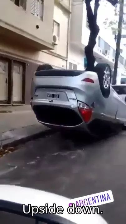 When you travel in argentina, you can park your car if you want